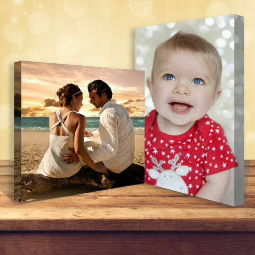 "Your Personalised Photo on Canvas Print 20"" x 16"" Framed A2 Ready to Hang <br/> Buy 2 Get 1 Free✔ Guaranteed UK Lowest Price✔ A+++✔"