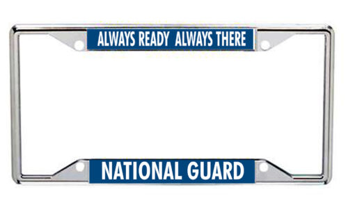 National Guard Metal License Frame Every StateNational Guard - 66532