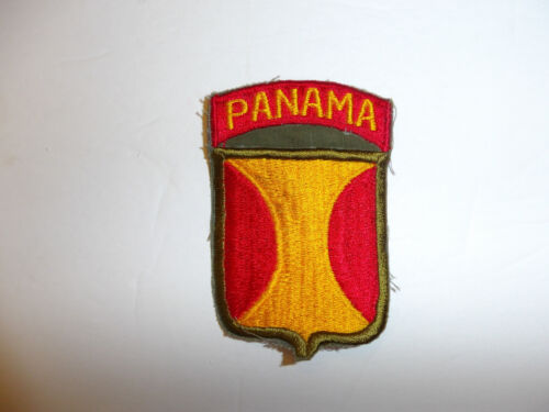 b5371 US Panama Canal Department patch R9AReproductions - 156472
