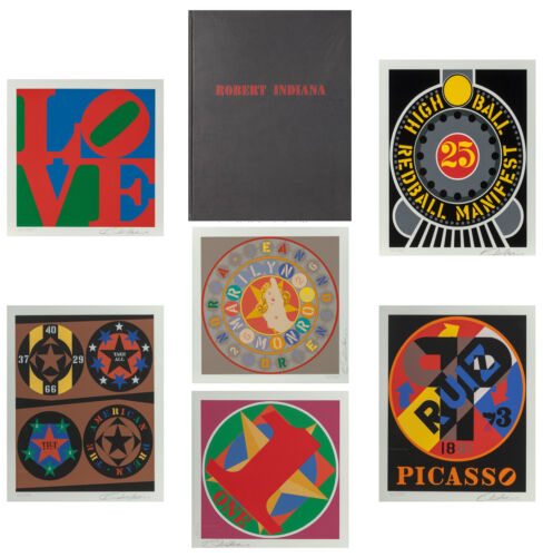 """ROBERT INDIANA """"THE AMERICAN DREAM BOOK"""" 1997 