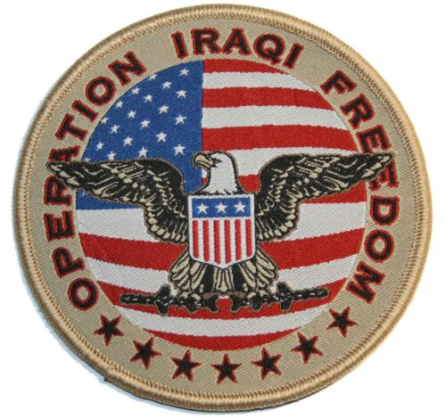 OPERATION IRAQI FREEDOM INSIGNIA Vegas Style WELCOME Sign /'08 GREEN ZONE Baghdad