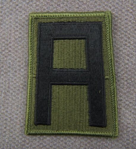 ORIGINAL US 1ST ARMY PATCH SUBDUED Patches - 36078