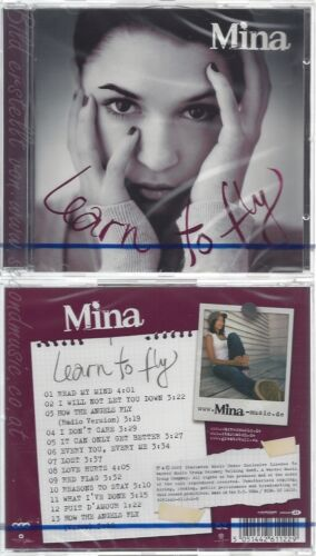 CD--NM-SEALED-MINA -2007- -- LEARN TO FLY