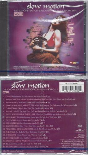 CD--NM-SEALED-VARIOUS -1995- -- SLOW MOTION 5