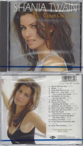 CD--NM-SEALED-SHANIA TWAIN -1999- -- COME ON OVER