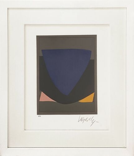 """VICTOR VASARELY """"TECOMA"""" 1972   RARE SIGNED PRINT   OTHERS AVAIL   MAKE AN OFFER"""
