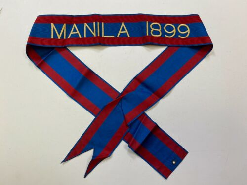 st316 Philippine Insurrection US Army Flag Streamer MANILA 1899Reproductions - 156386