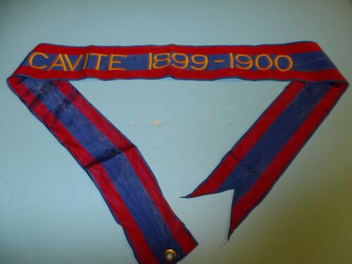 st320 Philippine Insurrection US Army Flag Streamer CAVITE 1899-1900Reproductions - 156386