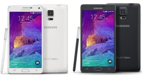 Samsung Galaxy Note 4 SM-N910A - 32GB - Black / White (AT&T Unlocked) Smartphone
