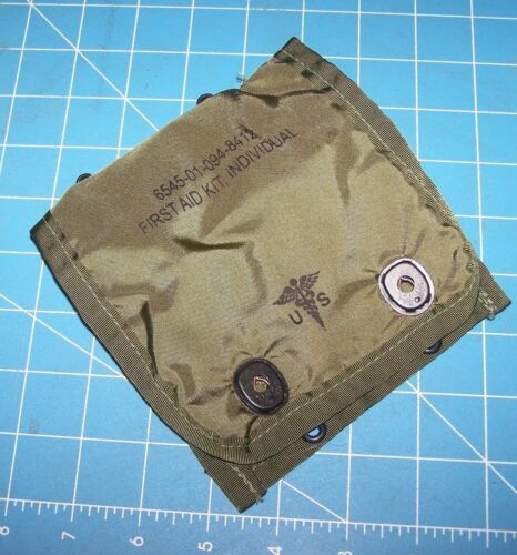 Medic Pouch First Aid Military Army USMC NEW Genuine Issue ALICE w Shelby P38Pouches - 70991