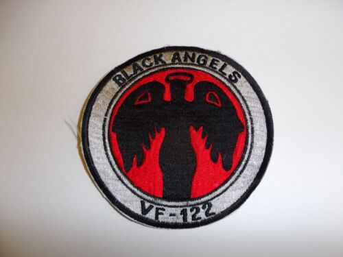 b8950 Vietnam US Navy VF 122 Black Angels Fighter Ron Squadron IR28DReproductions - 156445