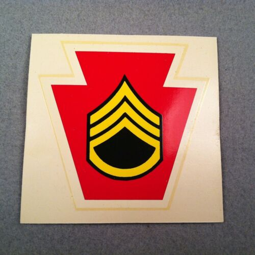 US Army 28th Infantry Division M1 Helmet Liner Water Transfer Decal 66LOther Militaria - 135