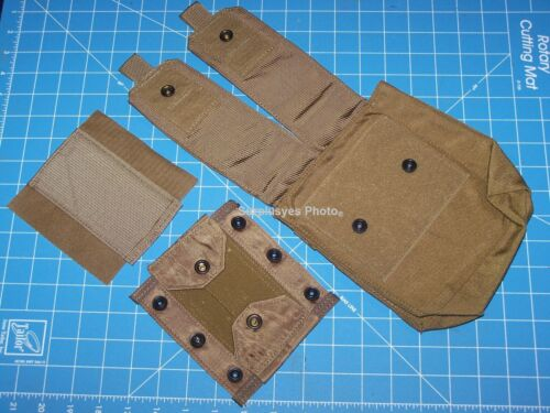 2 Military USMC Shotgun Pouch Genuine USA Issue Eagle Industries w Shelby P38Pouches - 70991