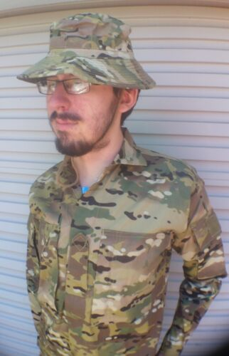 OZZIE MULTICAM SHIRT - NEW MADE ** sizes S to 5XL**COMBAT MILITARY & CADETS ARMYModern, Current - 36066