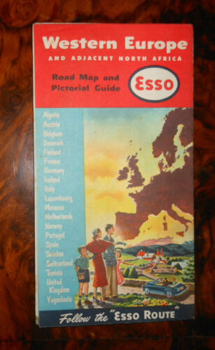 Western Europe and adjacent North Africa ESSO 1956 R617 ^
