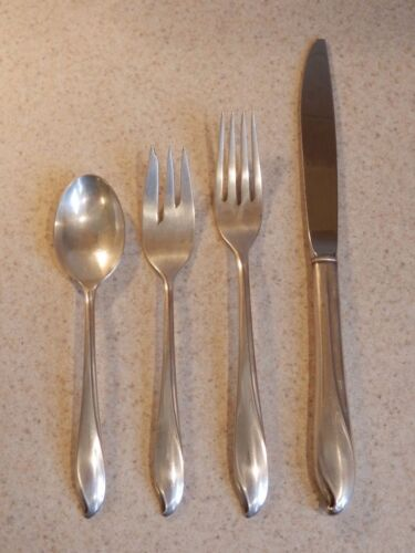 INTERNATIONAL CENTURY STERLING TORCHLIGHT PATTERN 4 PIECE SETTING EXCELLENT!
