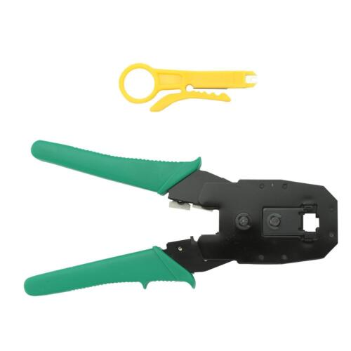 New RJ45 Network Cable Crimper Crimping Pliers Cat5 Ethernet LAN Network Tool