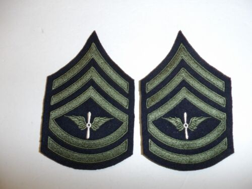 b1560p 1930s-WW2 US Army unofficial Army Air Corp Technical Sergeant chevron R1DReproductions - 156372