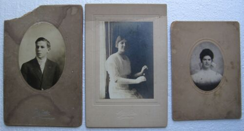 Gloucester Ma. - Three Antique Photographs