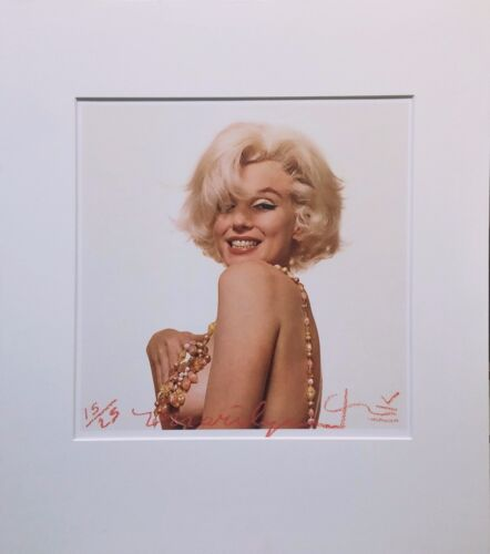 "BERT STERN ""MARILYN MONROE THAT FAMOUS SMILE"" 