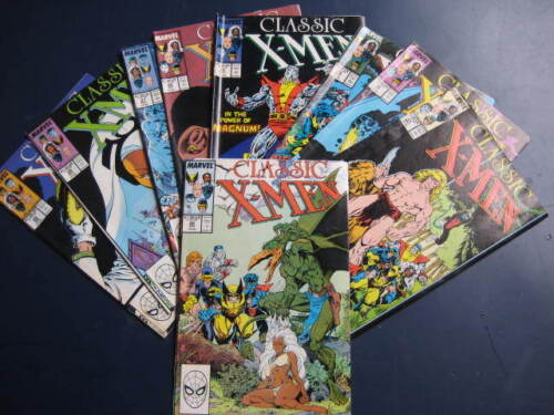 9 CLASSIC X-MEN COMICS- No.20-29-BY MARVEL COMICS-VGC-VIEW.