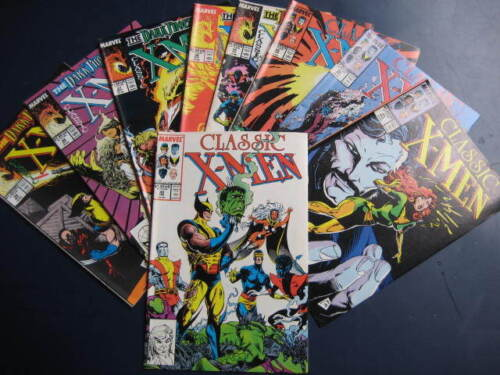 9 CLASSIC X-MEN COMICS- No.30-39-BY MARVEL COMICS-VGC-VIEW.