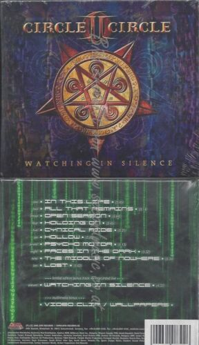 CD--CIRCLE II CIRCLE--WATCHING IN SILENCE -LTD-+THE MIDDLE OF NOWHERE -LTD-| DO