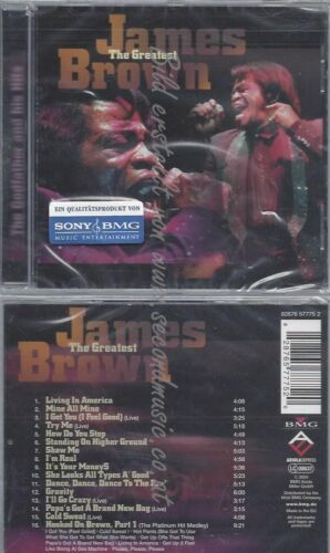 CD--JAMES BROWN--THE GREATEST