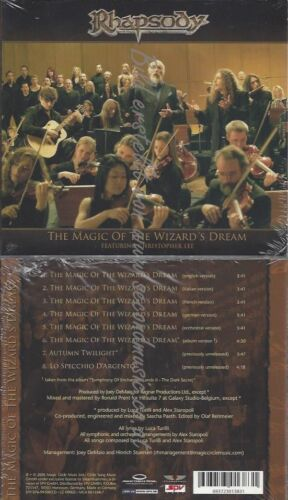 CD--RHAPSODY--THE MAGIC OF THE WIZARD'S DREAM | LIMITED EDITION