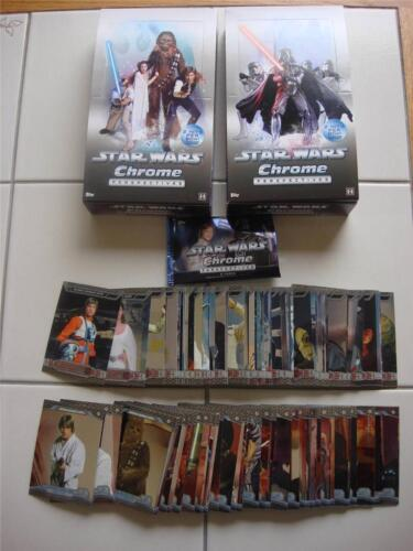 2014 TOPPS CHROME STAR WARS PERSPECTIVES complete 100 CARDSET 1-50 E & 1-50 R