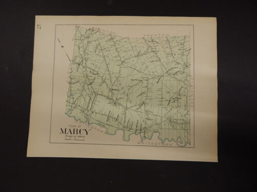 New York, Oneida County Map, 1907 Town of Marcy R3#20