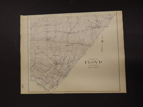 New York, Oneida County Map, 1907 Town of Floyd R3#32