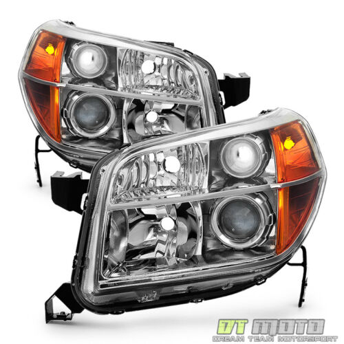 For 2006 2007 2008 Honda Pilot Factory Headlights Headlamps Replacement 06-08 <br/> Limited Life Time Warranty,free return,SAE DOT approved