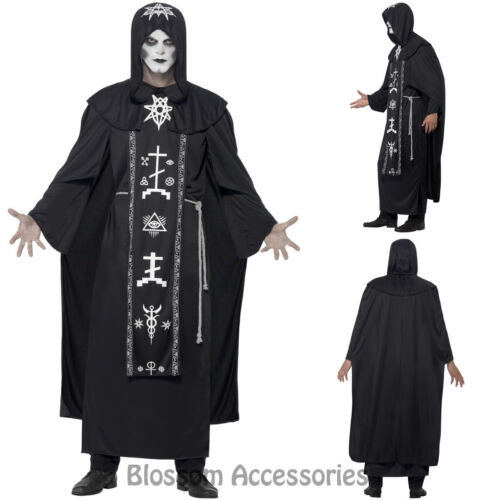 CA100 Dark Arts Ritual Black Magic Horror Satan Halloween Fancy Dress Up Costume