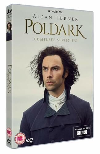 POLDARK 1-5 (2015-2019): COMPLETE British TV Drama Season Series R2 DVD not US
