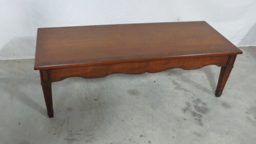 Henredon Coffee Table Designer Banded
