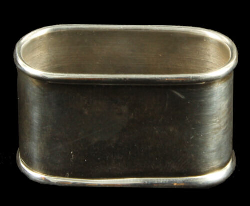 Antique Vintage Middle Eastern Iraqi Solid Silver Napkin Ring Hallmarked