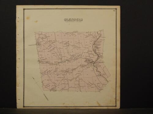 New York, Schoharie County Map, 1866, Blenheim Township Z4#56