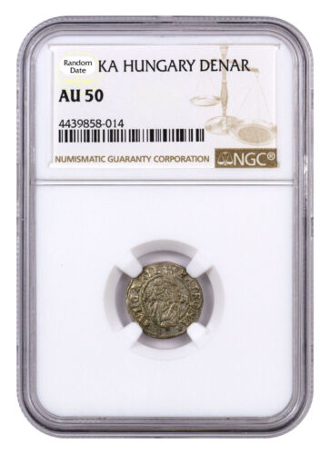 Random Date 1450-1620 Hungary Silver Denar Madonna & Child NGC AU50 SKU44477 <br/> Buy With Confidence from ModernCoinMart (MCM) on ebay