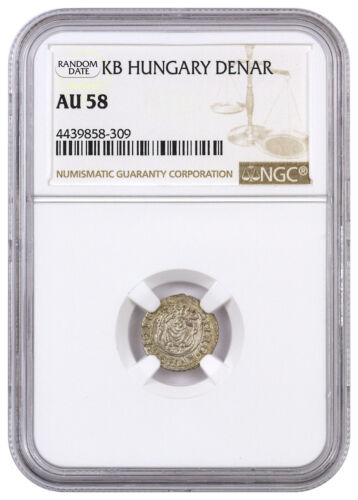 Random Date 1450-1620 Hungary Silver Denar Madonna & Child NGC AU58 SKU44480 <br/> Buy With Confidence from ModernCoinMart (MCM) on ebay