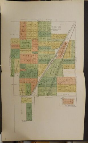 Illinois, Macoupin County Map, 1911, Mt. Olive, Double Page, L1#90