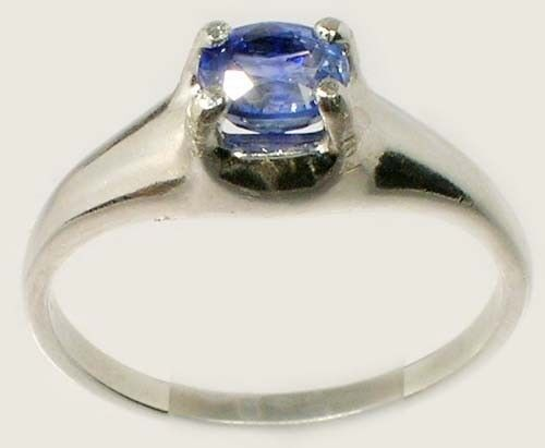 "Blue Sapphire Ring ¾ct+ Antique 19thC Ancient Persian Medicinal ""Gem of Heaven"""