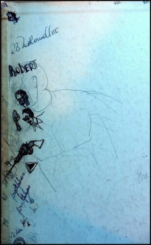 Robert MOTHERWELL (Artist): Early Sketches in his 1936 Stanford Binder
