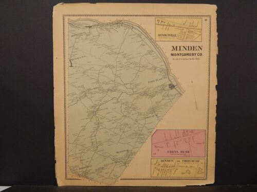 New York, Montgomery County Map, 1868, Minden Township !J3#02