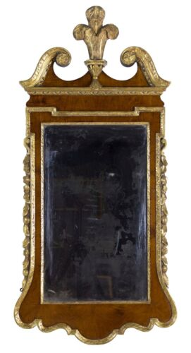 SWC-Chippendale Giltwood Looking Glass/mirror, mid-18th century, English