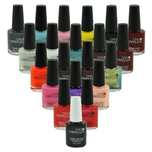 CND Vinylux Nail Polish Lacquer 0.5oz / 15ml *Choose any 1 color* Part II