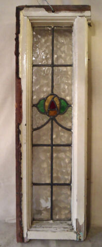 Antique Vintage Stained Glass Window (2001)NS