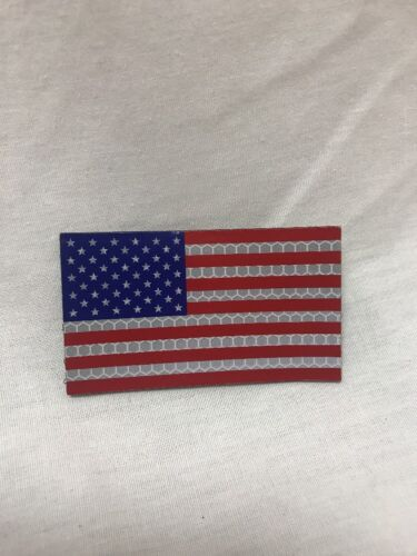 US American Flag IR Patch RWB Night Vision NVG PVS-14 Colored Wilcox NorotosMixed Lots - 48827