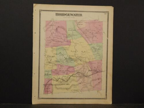Vermont, Windsor Co Map 1869, Bridgewater Township Y3#16