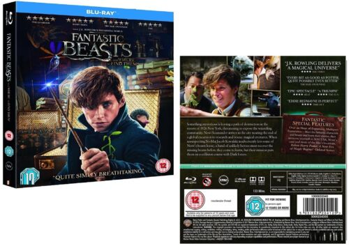 FANTASTIC BEASTS (2016) AND WHERE TO FIND THEM - Harry Potter Rg Free 2D BLU-RAY